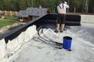 Обработка праймером бетонных поверхностей