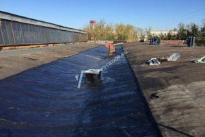 Капитальный ремонт крыши наплавляемой гидроизоляцией
